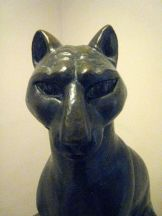 a regal cat by zorach