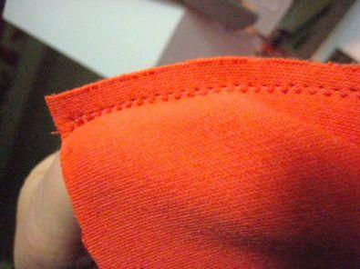 shoulder seam