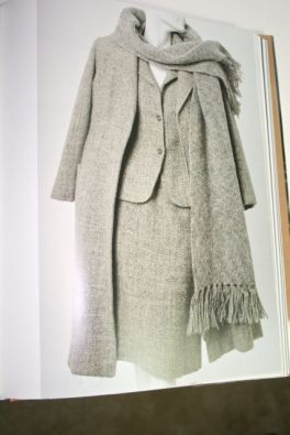 love the elegant textured wool details (not crazy 'bout the colour!)