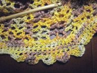sample edging for shawl