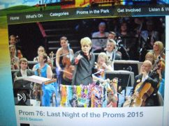Last Night at the Proms - BBC web site