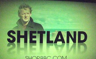 finally have remembered to take a quick pic to show we're now starting to see Shetland even down here!