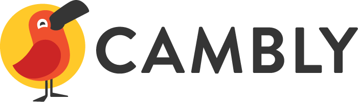 Cambly button to hire TEFL teachers.