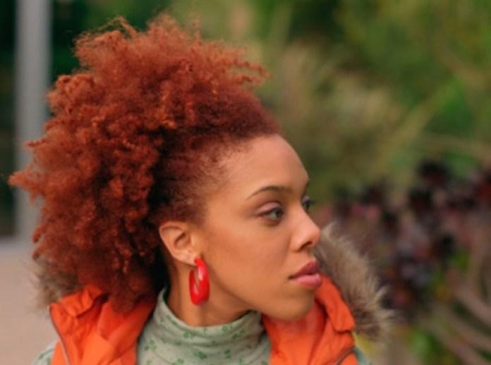 black girl natural hair colours