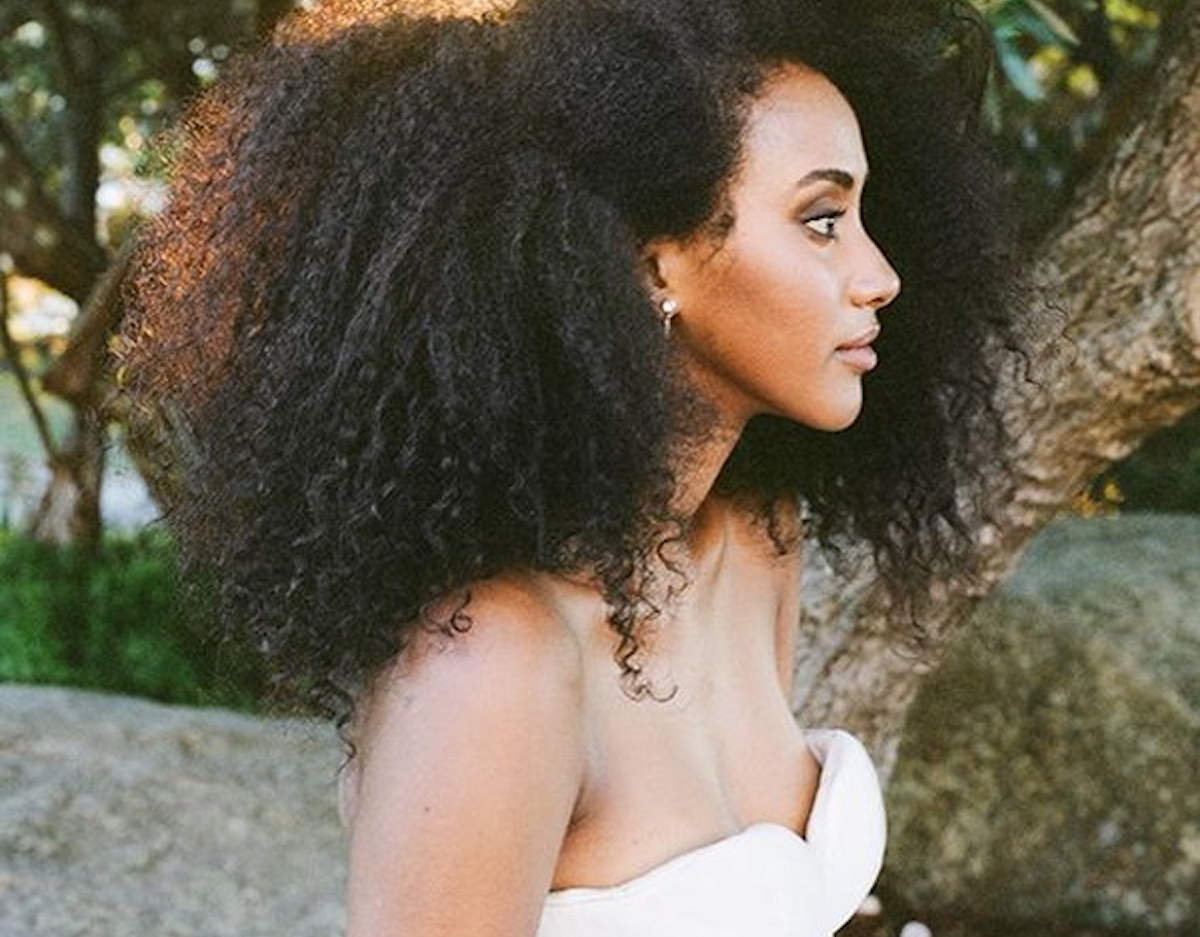 Curls Understood The Big Afro Summer Wedding Hairstyles