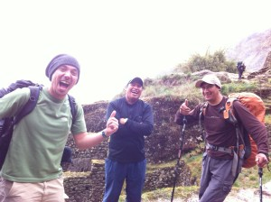 Machu Picchu and passport finding party rum!! 11-11-12 125