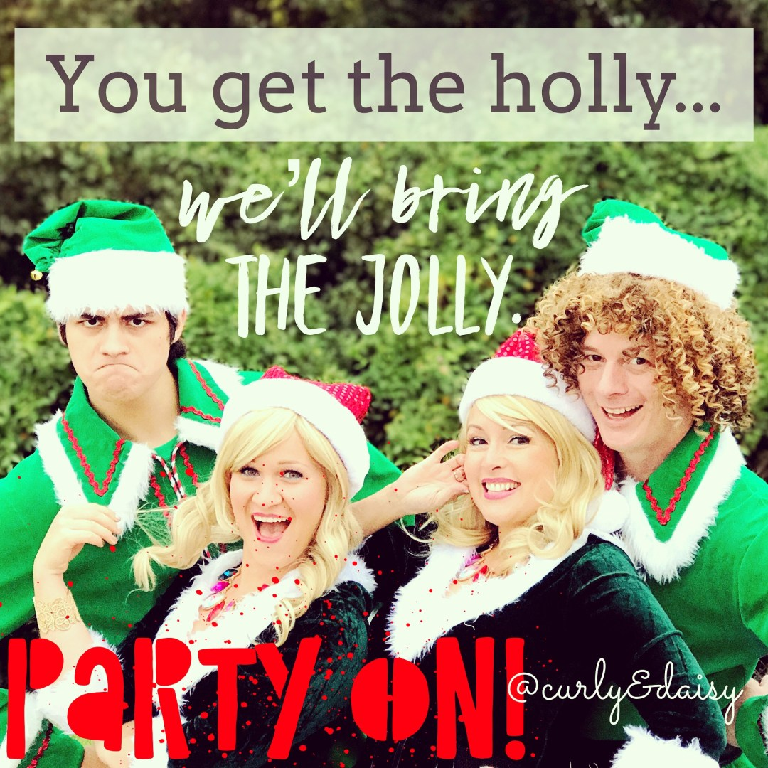Curly and Daisy Holiday Events Promo