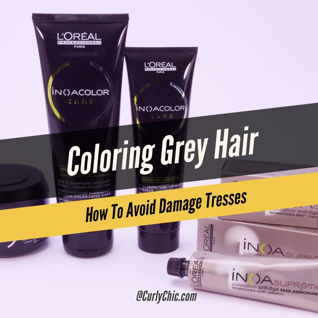 Coloring Gray Hair