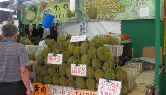 The durian; hate it or love it.