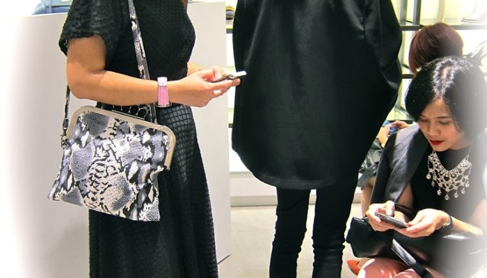 Charles and Keith store opening: what people were wearing