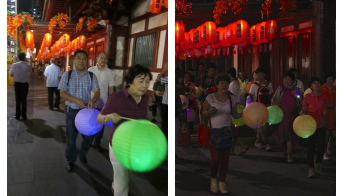 What is there to do during Mid-Autumn Festival in Singapore?