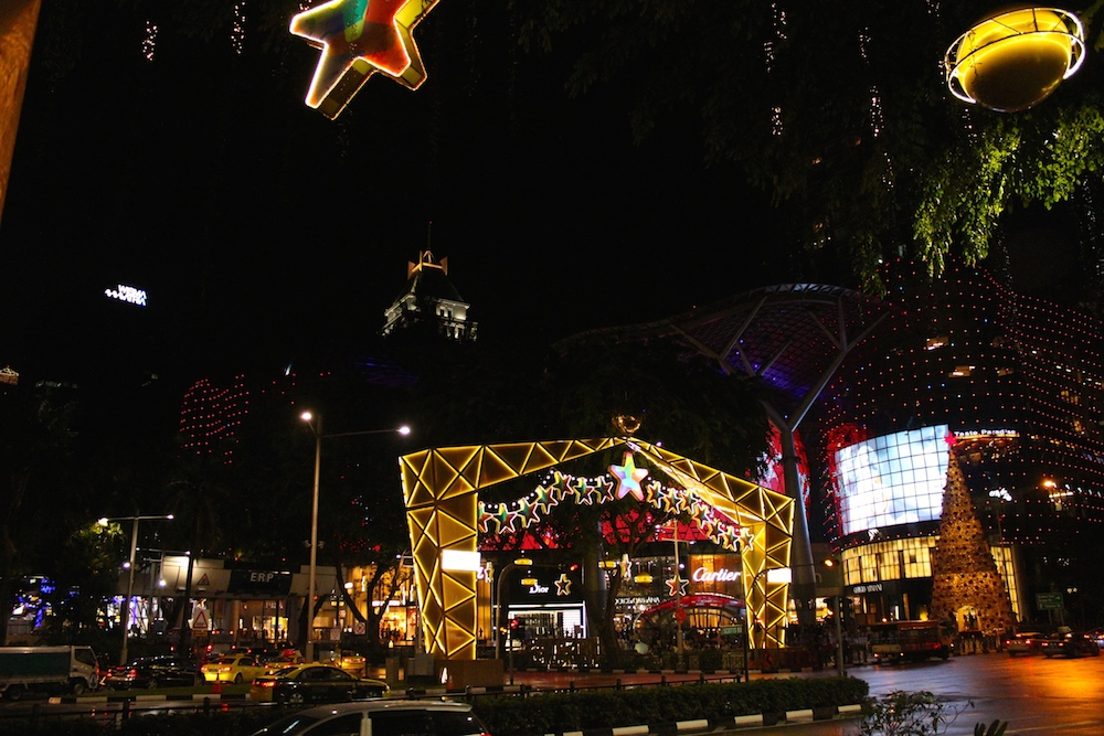 Christmas on Orchard Singapore | curlytraveller.com
