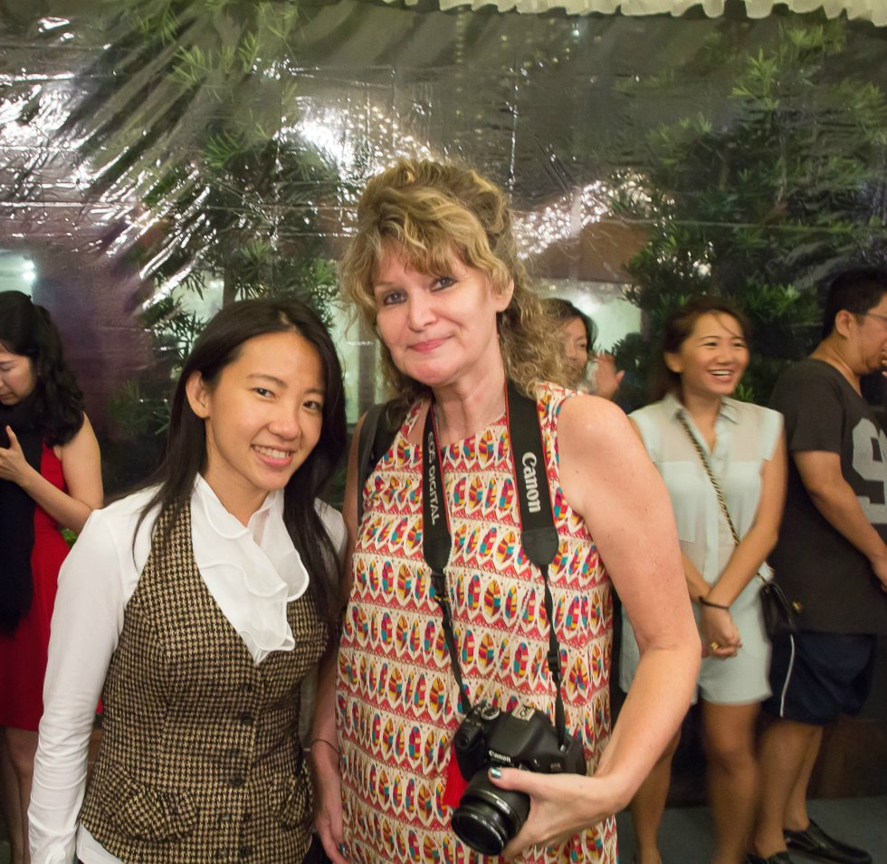 Janice Wong and me | curlytraveller.com