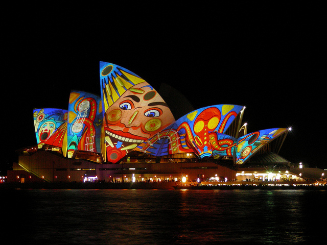 Picture by Doug Beckers during VividSydney 2013.