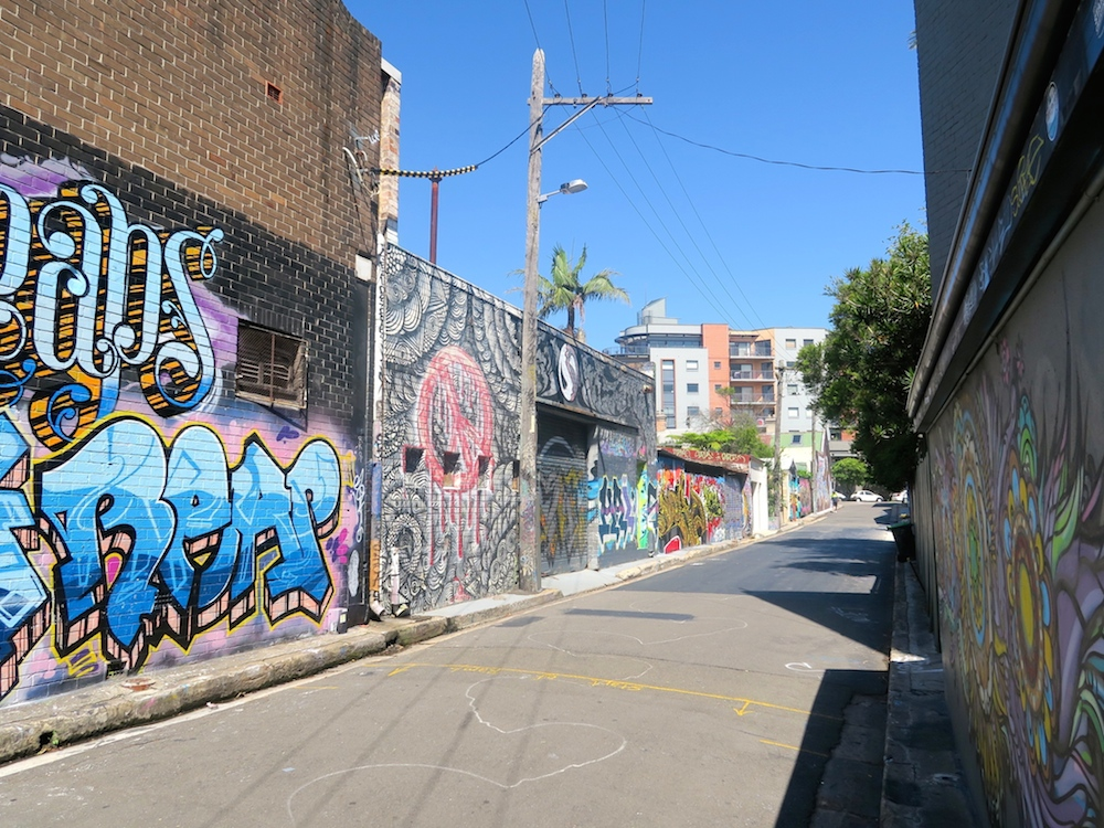 street art in St Peters, Sydney |curlytraveller.com