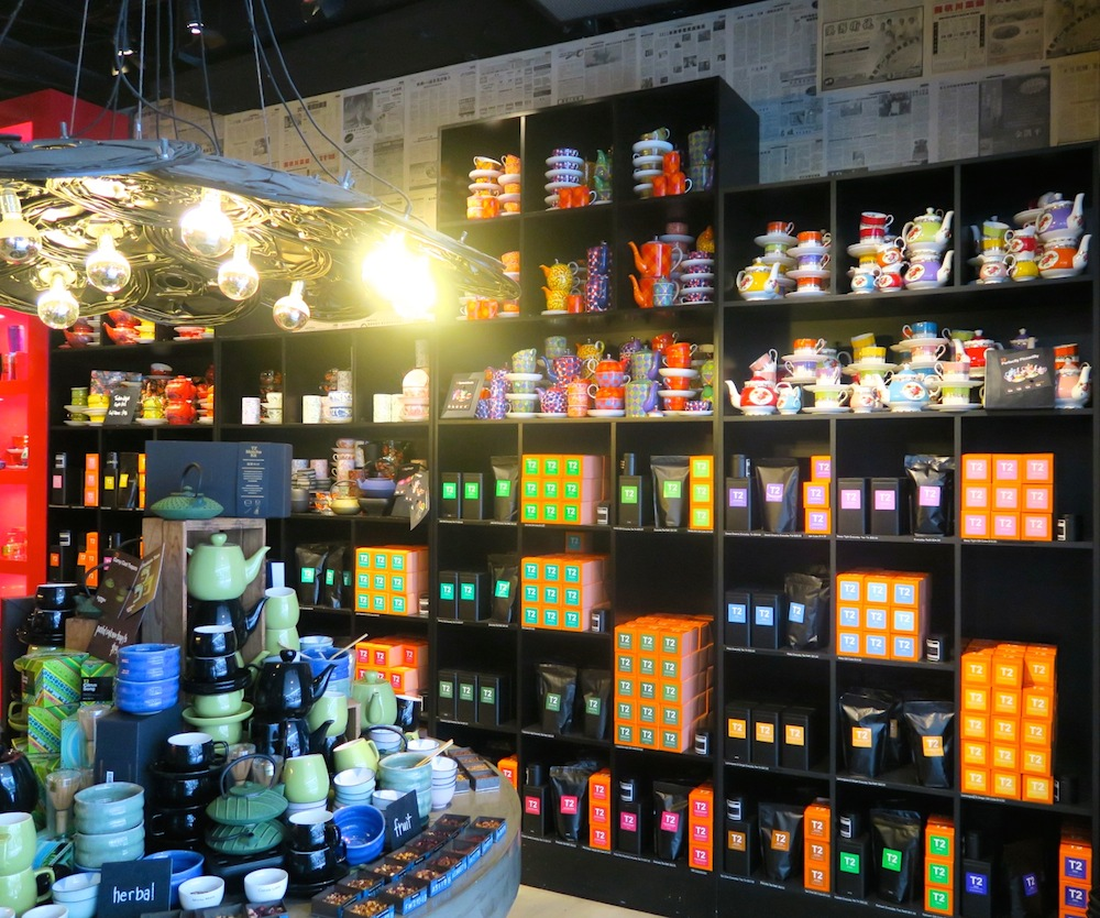 Tea items at T2, World Square, Sydney |curlytraveller.com