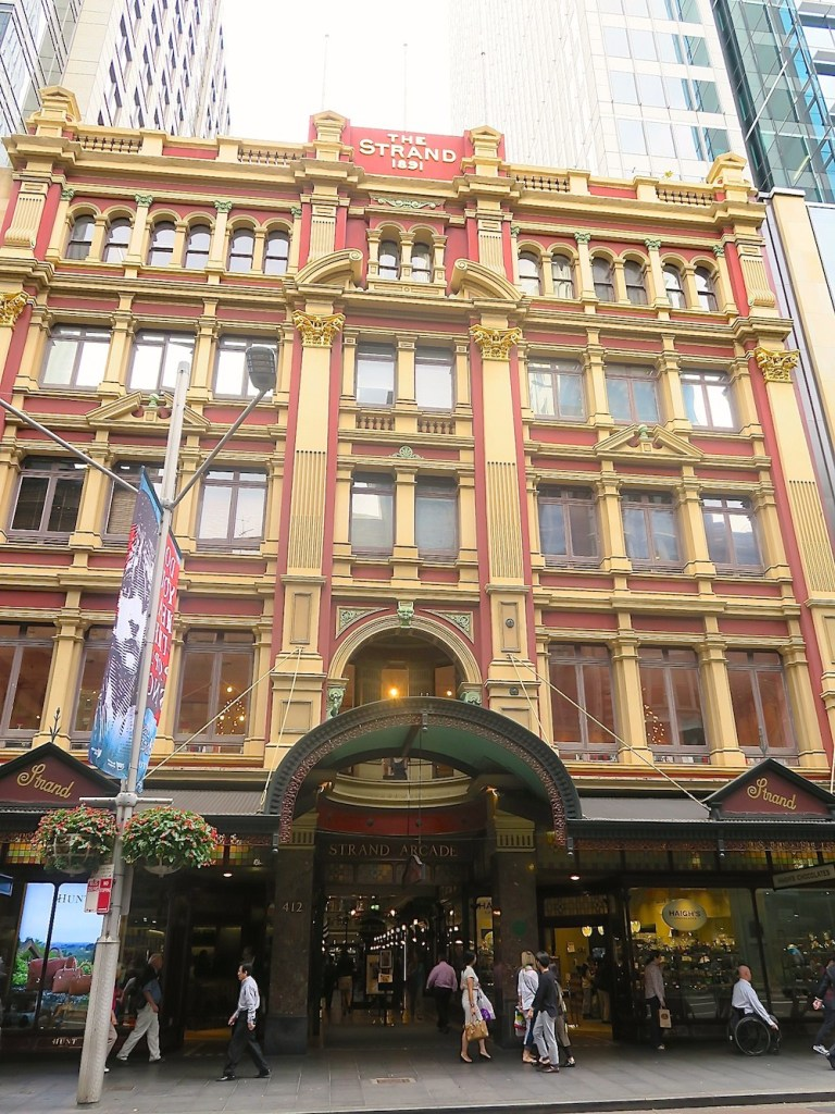 Facade of The Strand Sydney |curlytraveller.com
