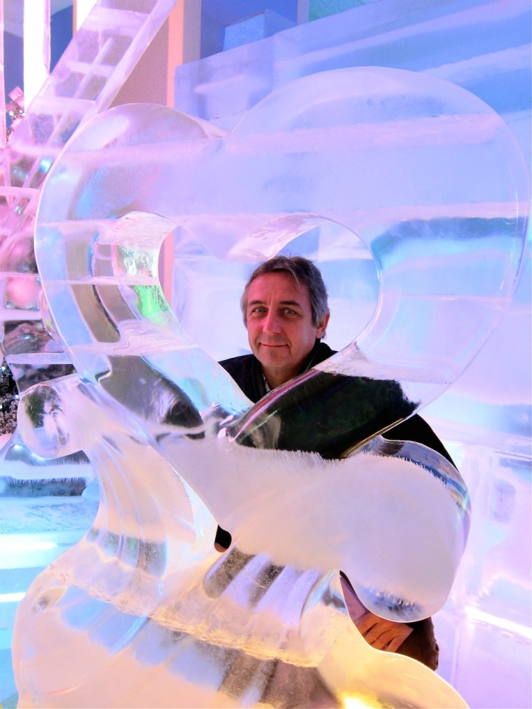 Ice heart in Ice Museum Seoul |curlytraveller.com