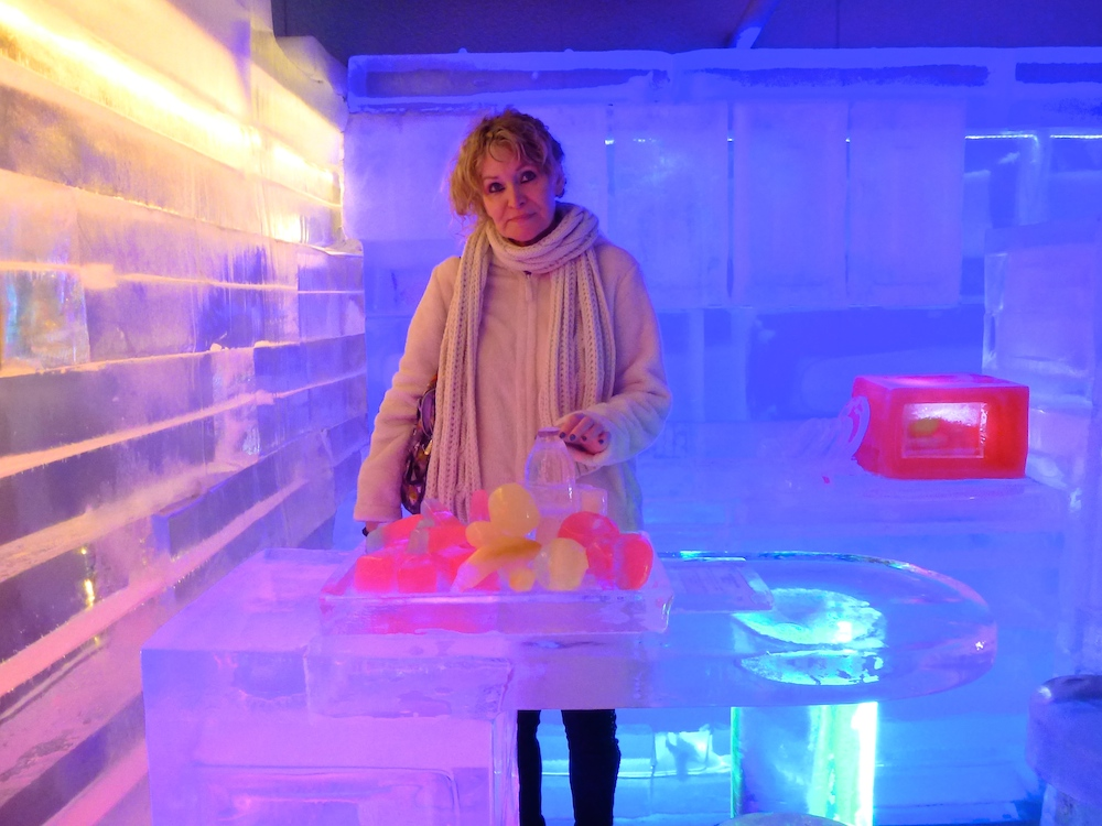 Inside an ice kitchen in Ice Museum Seoul |curlytraveller.com