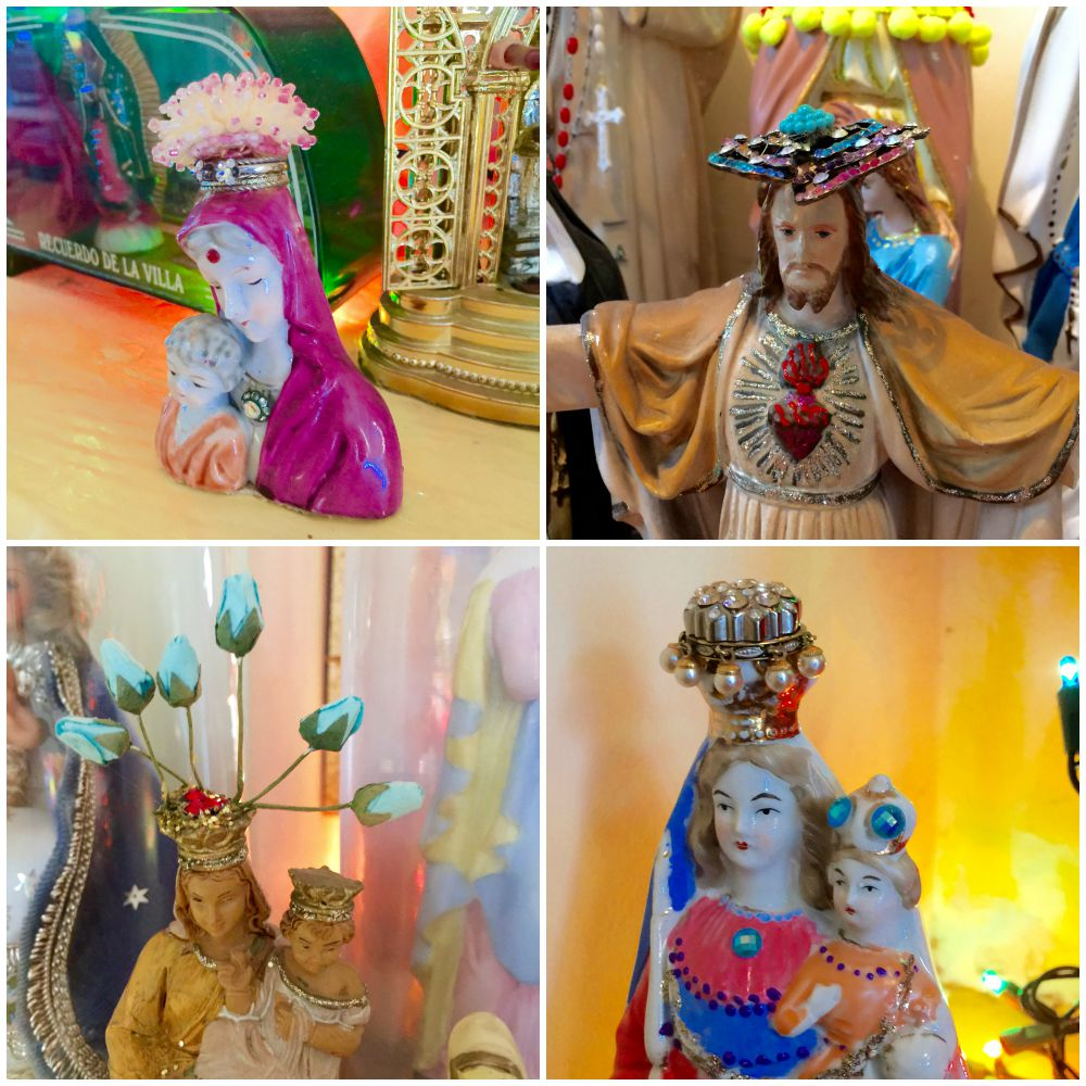Redecorated maria and jezus figurines |curlytraveller.com