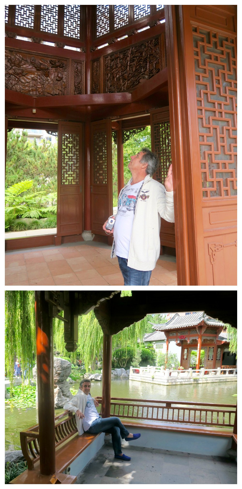 Small pavilions in Chinese Gardens Sydney |curlytraveller.com