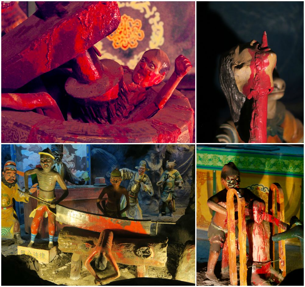Ten Courts of Hell at Haw Par Villa |curlytraveller.com