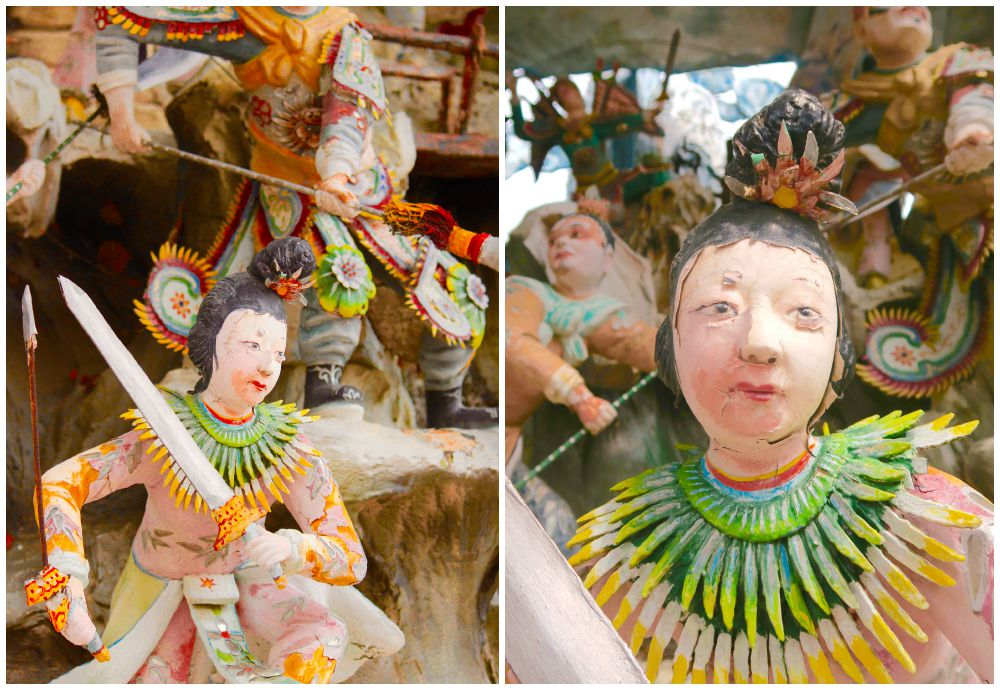sculptures at Haw Par Villa Singapore |curlytraveller.com