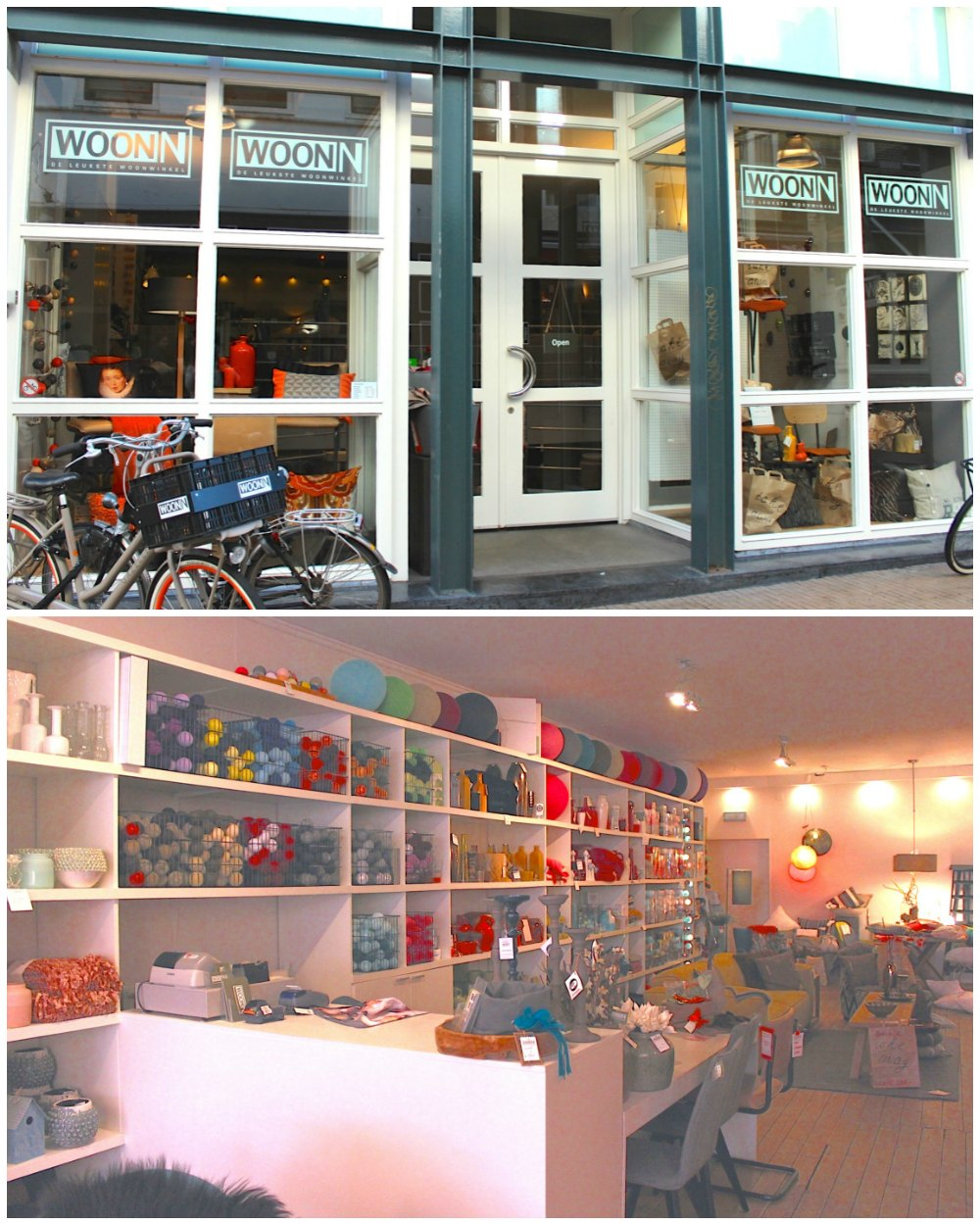 Lots of cushions at WOONN in Groningen |curlytraveller.com