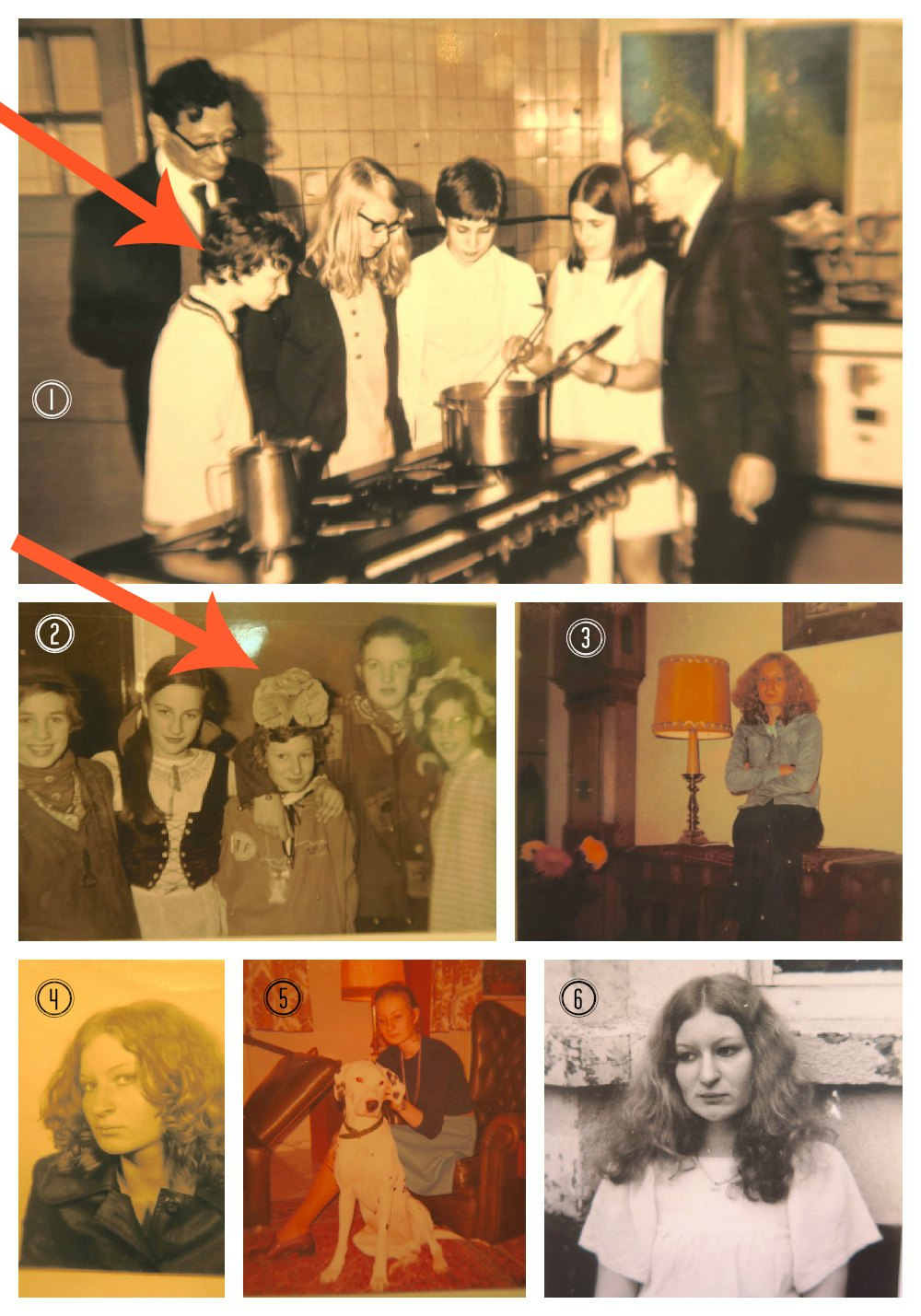Childhood pictures from dutch woman |curlytraveller.com