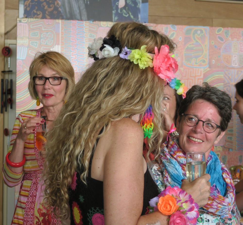 Two Dutch women at a party |curlytraveller.com