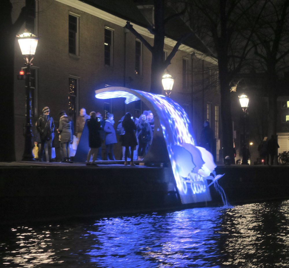 From Twente with Love at Amsterdam Light Festival |curlytraveller.com