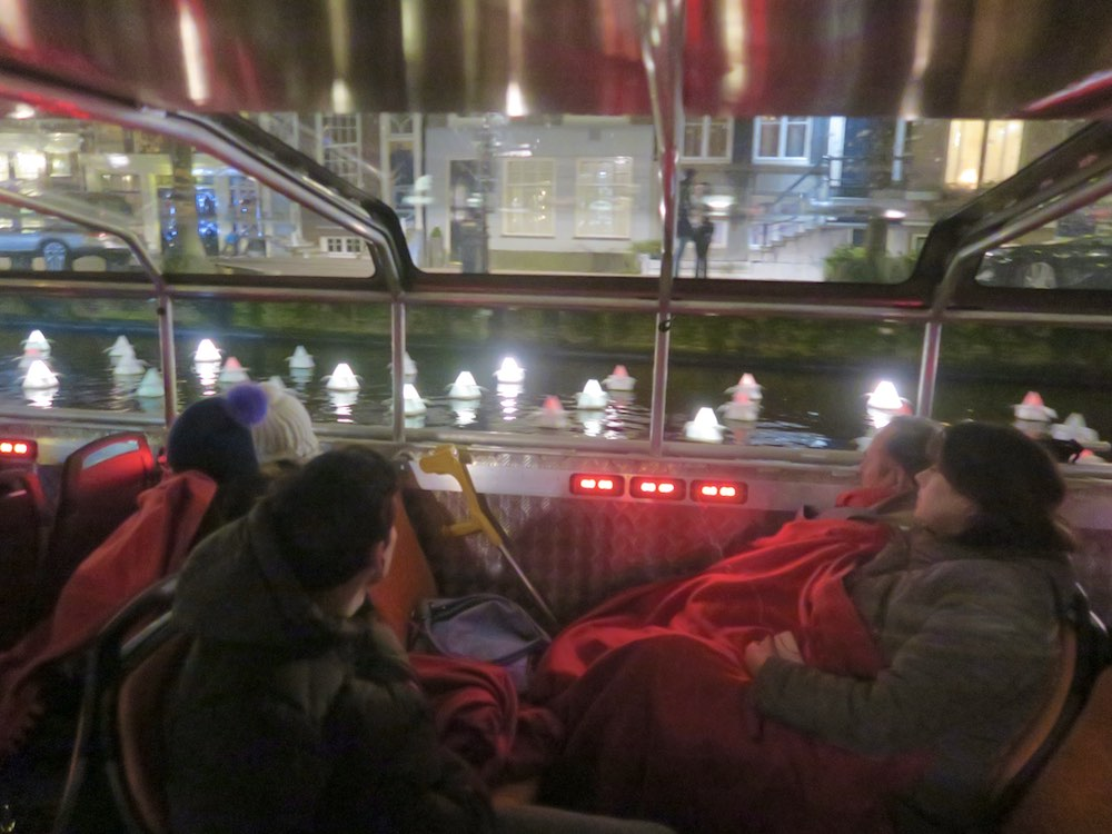 Cruising the Amsterdam canals with Lovers |curlytraveller.com