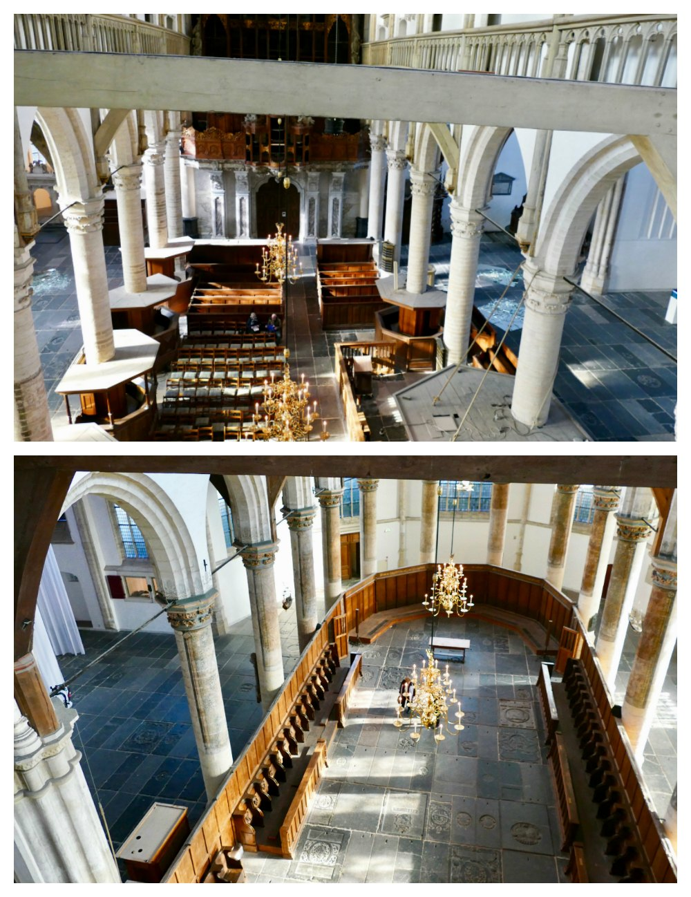Views over the Oude Kerk from 15 meters high |curlytraveller.com