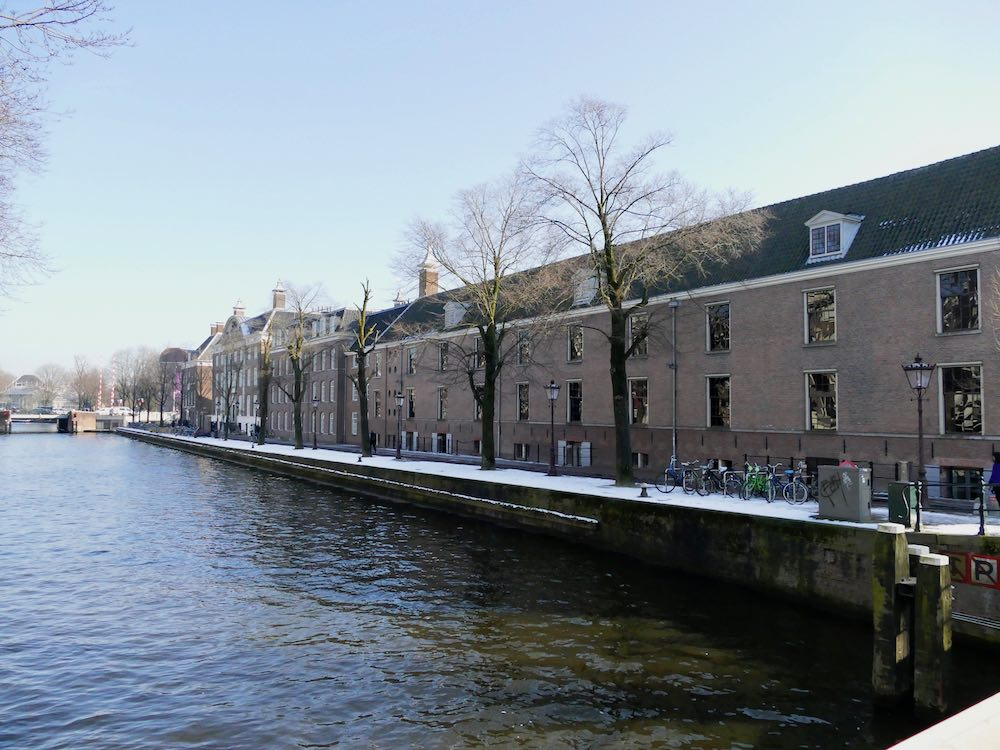 Building of the Hermitage in Amsterdam |curlytraveller.com
