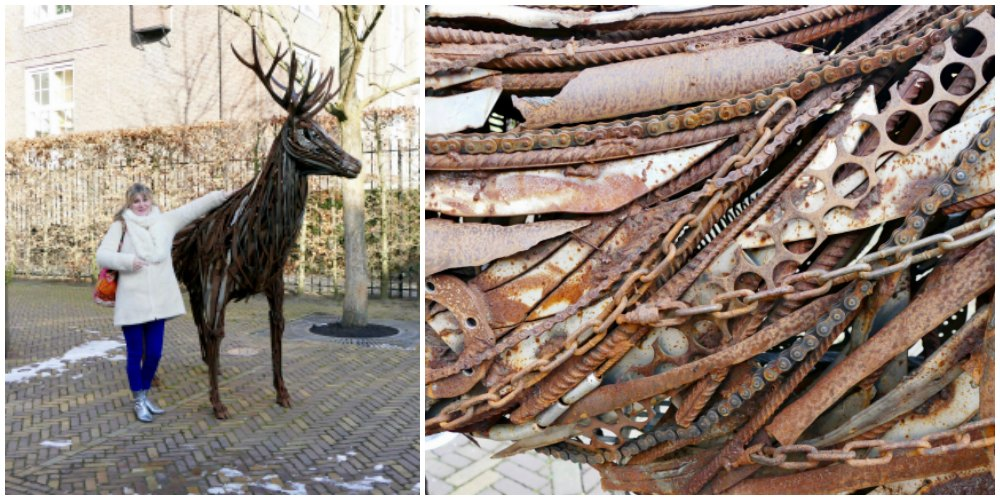 Hardware stag at Hermitage Amsterdam |curlytraveller.com