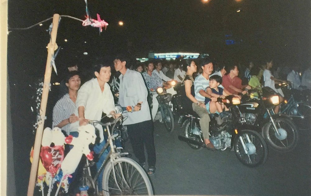Scooters in Saigon |curlytraveller.com