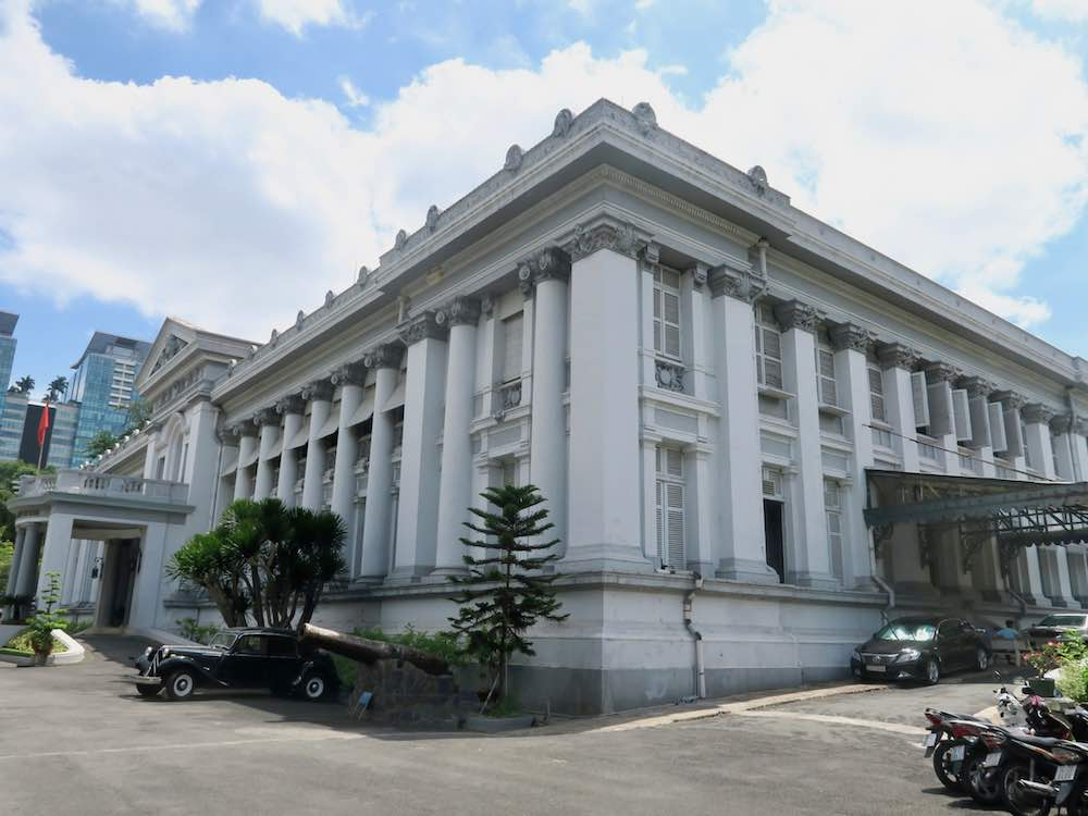 The building in which Ho Chi Minh City Museum is housed |curlytraveller.com
