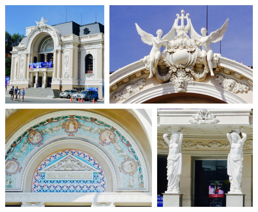 Beautiful Opera House in Ho Chi Minh |curlytraveller.com