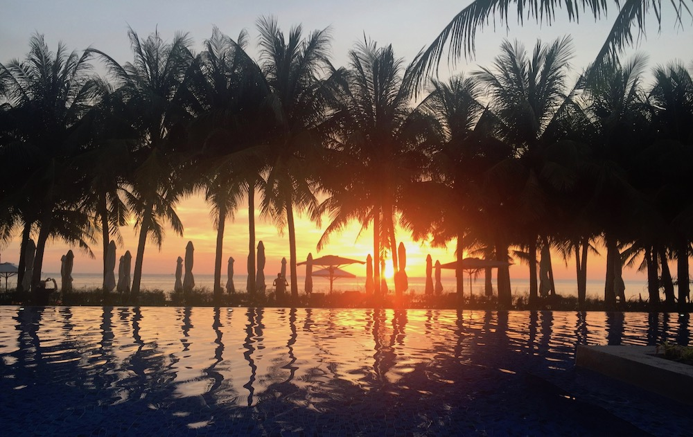 Sunset at Salinda Resort Phu Quoc |curlytraveller.com