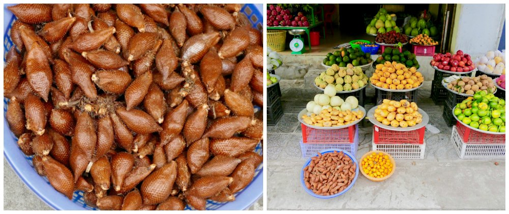 Fruits on Duong Dong market |curlytraveller.com