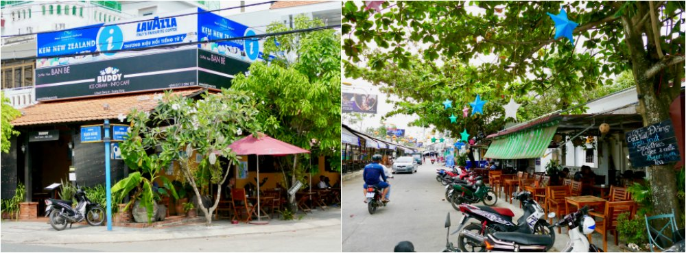 Two cafes in Duong Dong town |curlytraveller.com