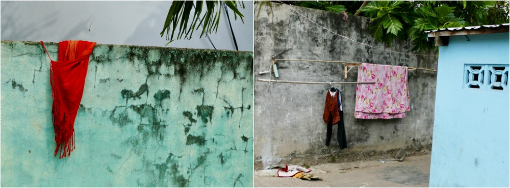 Laundry in the streets of Duong Dong |curlytraveller.com