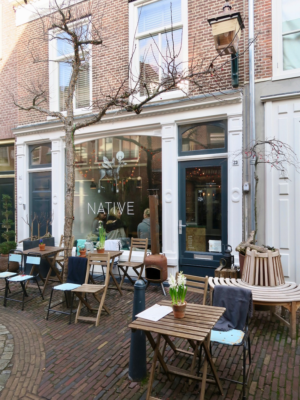 Terrace from Native Haarlem |curlytraveller.com