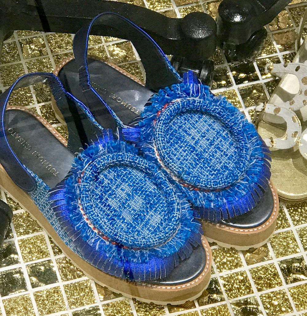 Unusual slippers by Tsumori Chisato |curlytraveller.com