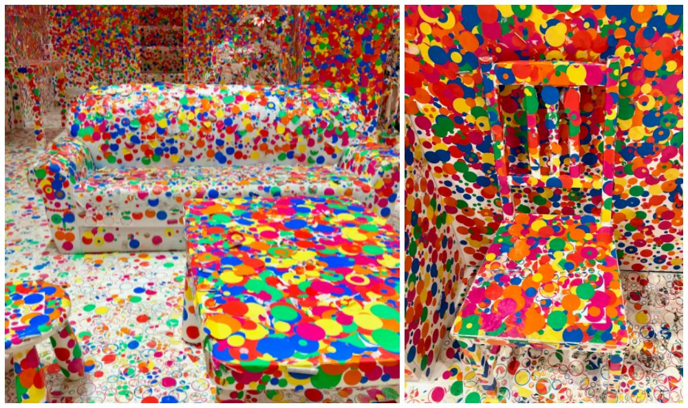 Obliterated objects in interactive room at National Gallery Singapore |curlytraveller.com