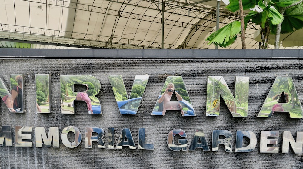 Nirvana columbarium in Singapore |curlytraveller.com