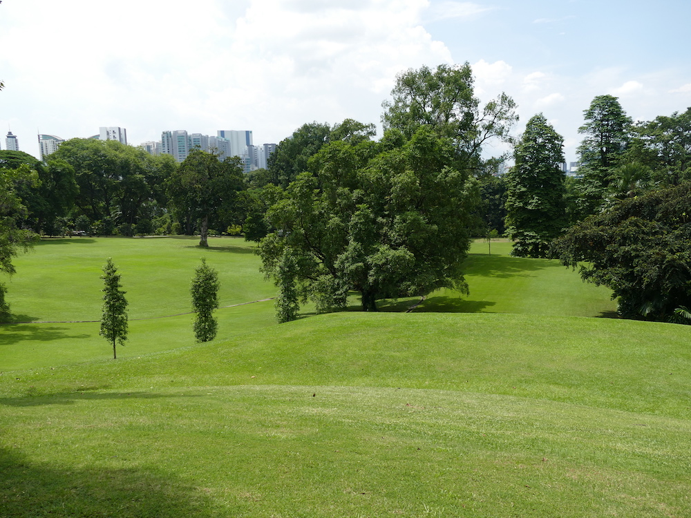 The vast grounds of the istana Singapore |curlytraveller.com