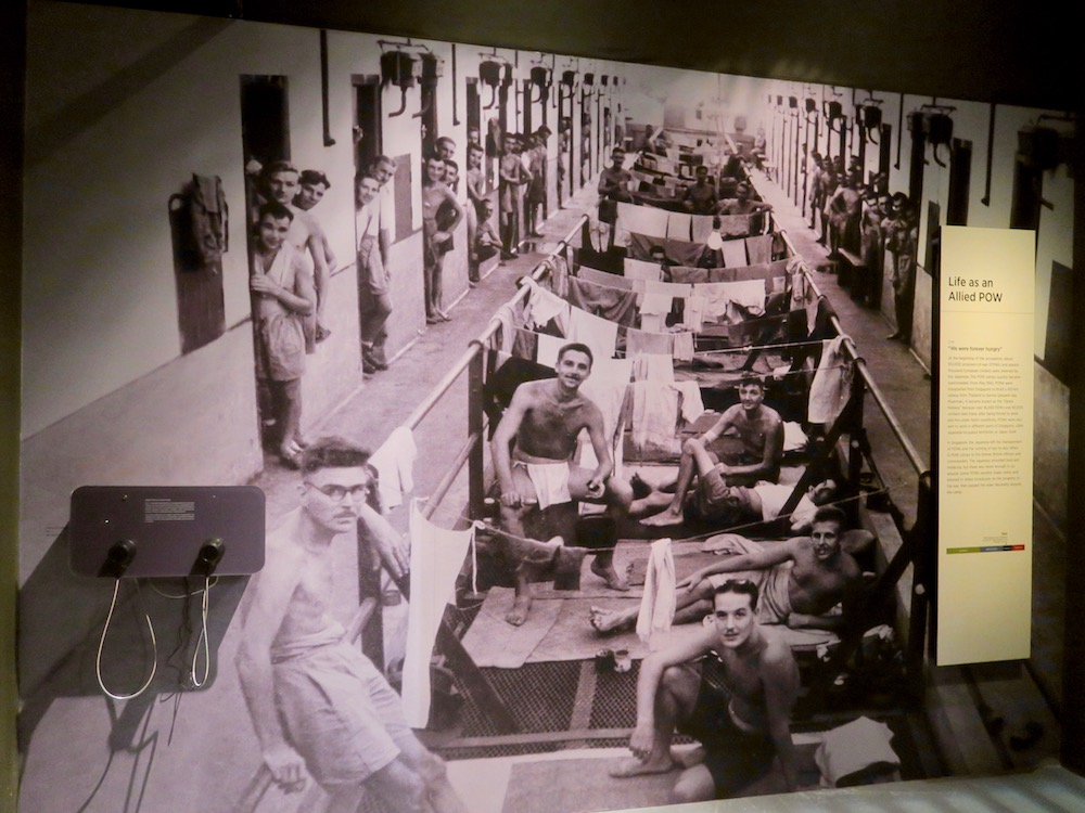 Picture of the barracks for war prisoners in Singapore |curlytraveller.com