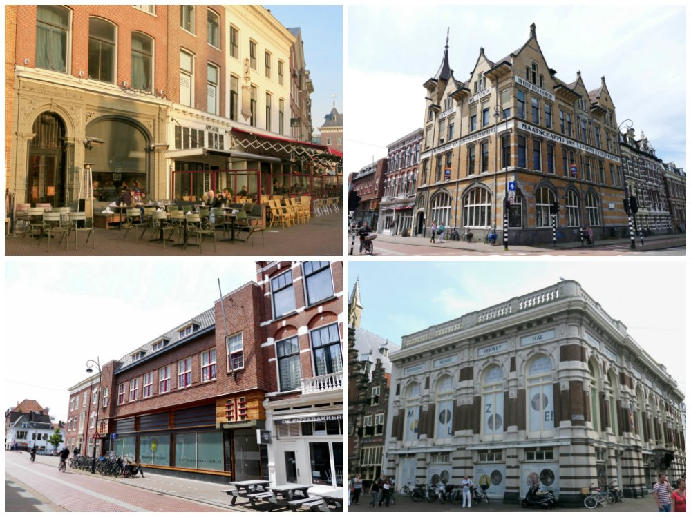 Beautiful architecture in Haarlem |curlytraveller.com