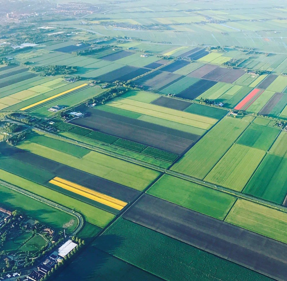 Holland seen from the air |curlytraveller.com